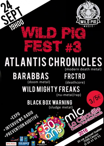 rezillos,black box warning,wild mighty kreaaks,frctrd,barabbas,atlantis chronicles,jim baldwin,la prochaine fois,le feu,negus